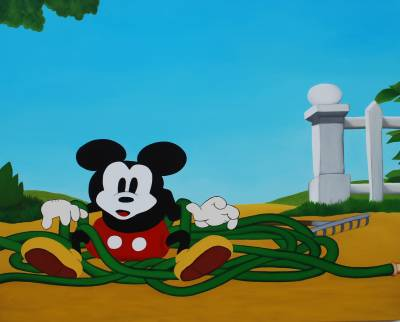 Mickey on the other side of intoxication